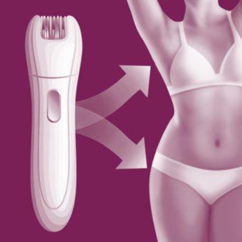 Giải pháp làm sạch lông dành riêng cho vùng da nhạy cảm