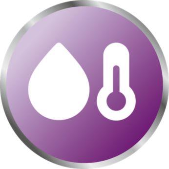Controllo e registrazione dell'umidità e della temperatura della stanza