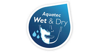 Aquatec seal for both water and vapor proof