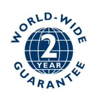 2 години световна гаранция