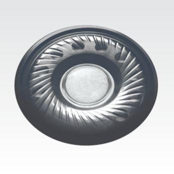Güçlü ve dinamik ses için 40 mm hoparlör sürücüleri