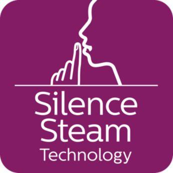 Технология Silent Steam: мощная подача пара и минимум шума