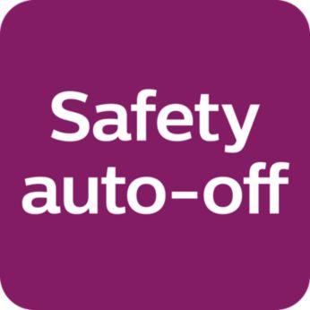 Güvenli otomatik kapanma özelliği cihazı otomatik olarak kapatır