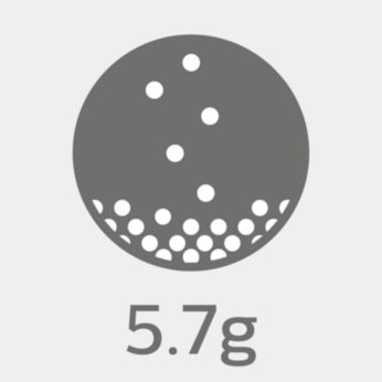 5.7-g ultra hafif tasarım * nihai konfor sağlar