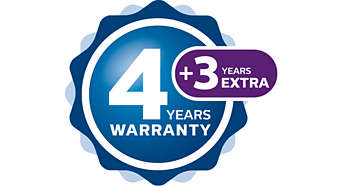 Simply register online to extend your warranty
