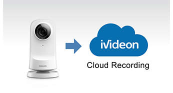 Cloud streaming and video storage, powered by Ivideon