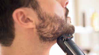 Поддерживайте трехдневную щетину в идеальном состоянии, используя установку 0,4мм каждый день