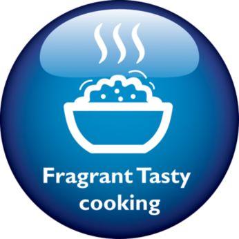 """FragrantTaste"" enhances optimal moisture absorption"