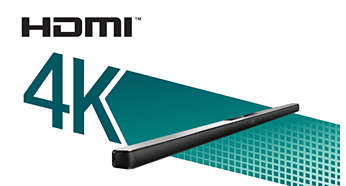 HDMI 4K2K pass-through for ultra HD content enjoyment
