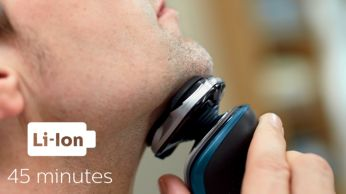 45 dakika kablosuz tıraş