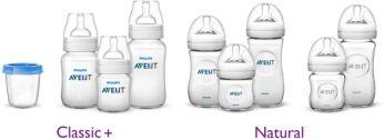 與飛利浦 Avent 奶瓶和儲存容器相容