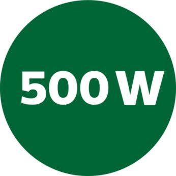 พลังมอเตอร์แรง 500W