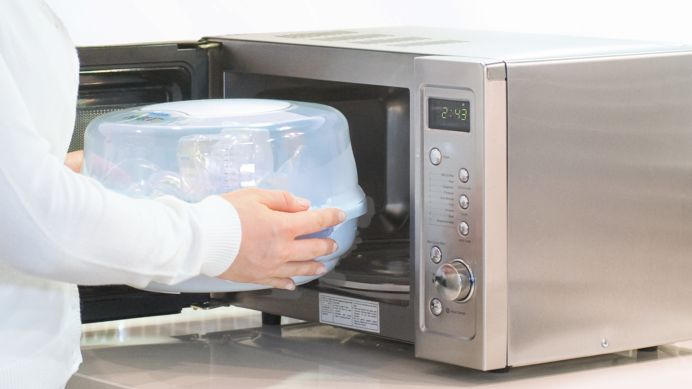 Fits most microwaves on the market