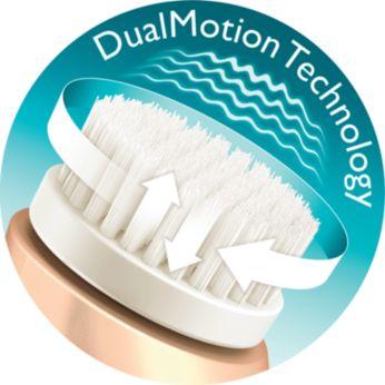Individuelle DualMotion-Technologie mit intelligenter Bürstenkopferkennung