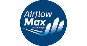 Kuvvetli emiş gücü için devrim niteliğindeki AirflowMax teknolojisi