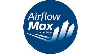 Forradalmi AirflowMax technológia nagy szívóteljesítménnyel
