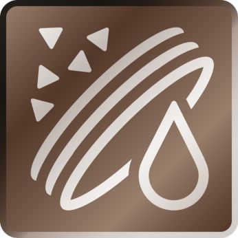 5.000 tazze di caffè* senza decalcificazione con il filtro AquaClean