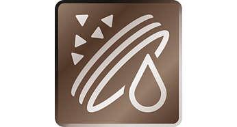 5000 чашек кофе* без очистки от накипи благодаря фильтру AquaClean