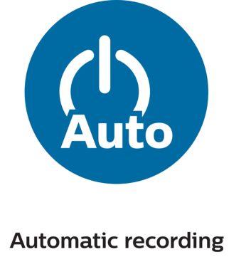 Автоматическая запись сразу после включения зажигания