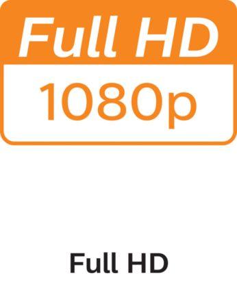 Высокая детализация благодаря разрешению 1080p Full HD