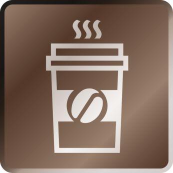 O cafea intensă la pachet cu grupul de preparare de capacitate mare