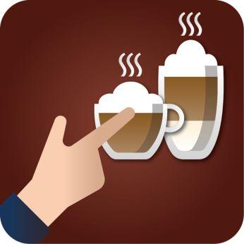 Превосходный горячий капучино и латте макиато одним нажатием кнопки