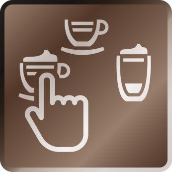 Множество кофейных напитков — от эспрессо до латте макиато
