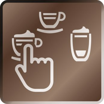 Cappuccino şi Latte Macchiato delicioase şi fierbinţi printr-o singură atingere