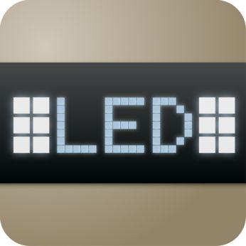Afişaj tactil cu iluminare de fundal şi navigare simplă