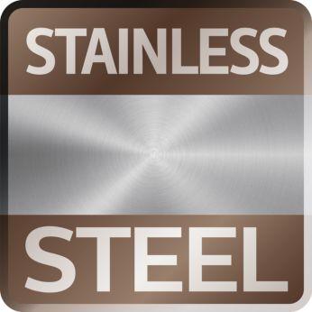 Фронтальная панель из нержавеющей стали: традиционный дизайн и безупречное исполнение