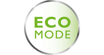 Energy saving eco mode with connection indication
