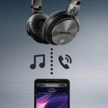 Kablosuz kontrol, müzik ve çağrılar