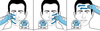Pulizia profonda del viso in appena 1 minuto