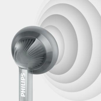 Yüksek ses kalitesi için 14,8 mm hoparlör sürücüleri
