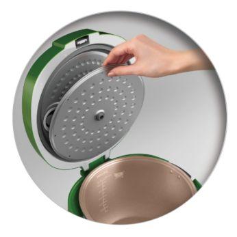 Fully detachable inner lid for easy cleaning