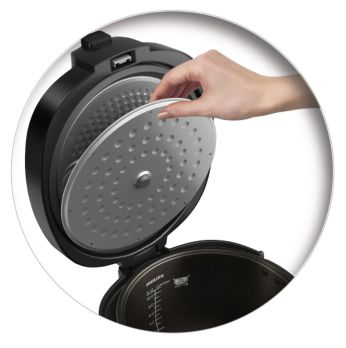 Fully detachable inner lid for easy cleaning