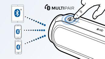 利用 MULTIPAIR,隨心所欲在 3 台裝置間切換音樂
