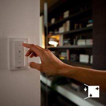 Přepínač můžete umístit kamkoli