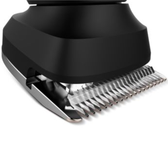 Skin-friendly, high-performance blades for a gentle trim