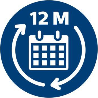 Αλλαγή κάθε 12 μήνες για σταθερή απόδοση