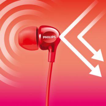 Tobula izoliacija ausyje blokuoja išorinį garsą