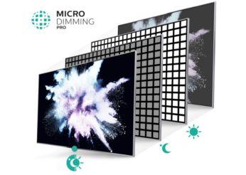 Micro Dimming Pro voor ongelooflijk contrast