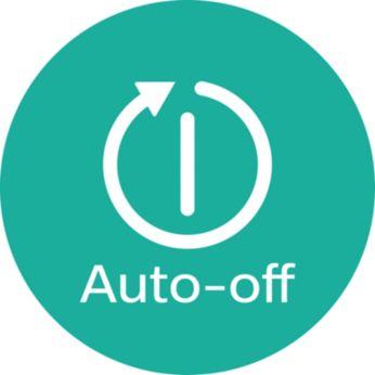 Функция автоотключения для безопасного использования