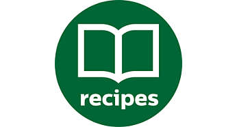 Over 200 recipes in app and free recipe book included