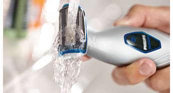 Duşta veya duş dışında kolay temizleme ve kullanım