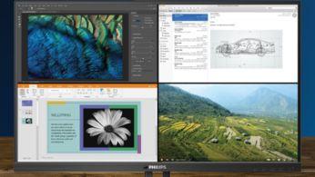 Tek ekranda 4 sistem için MultiView 4K