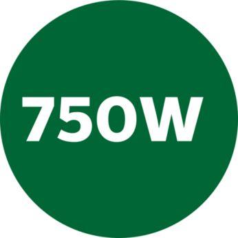 Powerful 750W Turbo motor