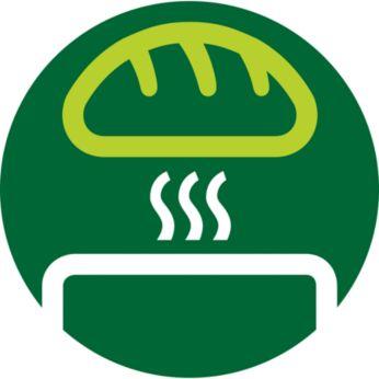 Встроенная подставка для подогрева блинчиков и булочек