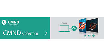 Manage settings of multiple displays with CMND & Control