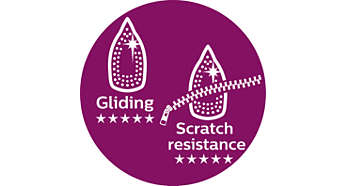 Philips best gliding and most scratch resistant soleplate
